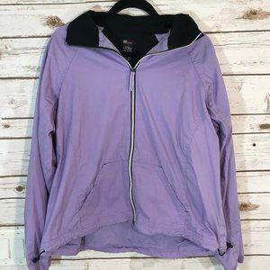 SJB Active Women's Jacket Windbreaker, Purple XL